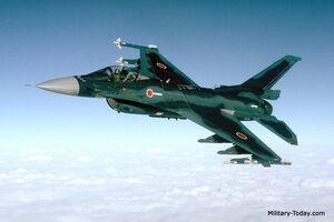 F-2 In Flight