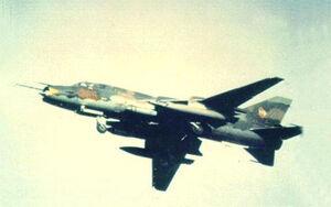 Su-17 In Action