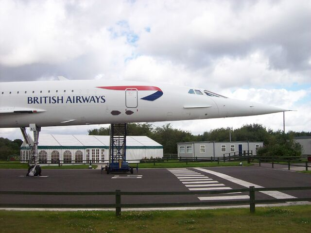 File:Concorde At Manchester Airport Viewing Park.jpg