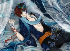 348466 paren postel tatuirovka tatu kimono krasnyj 1920x1416 (GdeFon