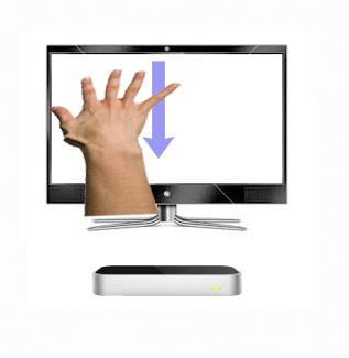 Downswipe-hand