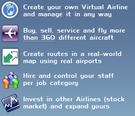 Airline Manager Features