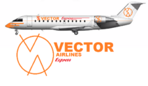 Vector Airlines Express Bombardier Canadair CRJ-100