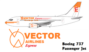 Vector Airlines Express Boeing 737