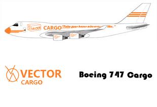 Vector Cargo 747 cargo jet