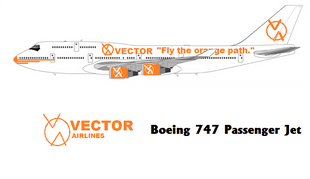 Vector Airlines Boeing 747