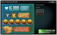 Diamond Bundle 16000 b20409