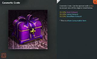 Cosmetic Crate Full