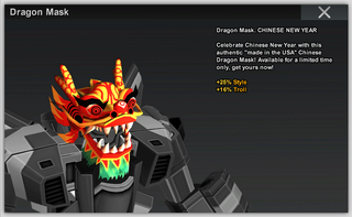 Dragon Mask Full