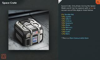 Space Crate Full