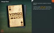 Vorgo Pass Card Full