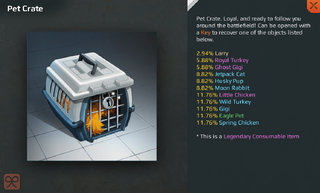 Pet Crate Full