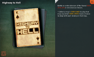 Highway to Hell Card Full