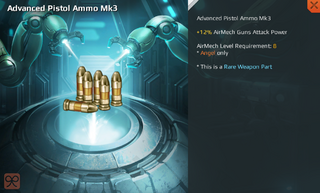 Advanced Pistol Ammo Mk3 Full