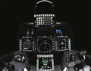 Cockpit F-22