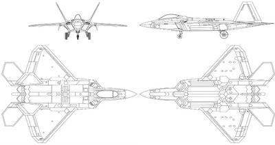 F-22 Blueprints