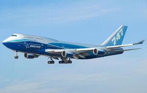 Boeing 747-400 Dreamliner livery