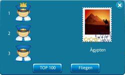 Ranking Flugziel