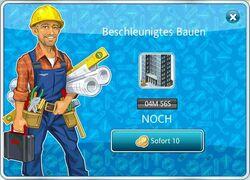 Graues Hochhaus Bau2