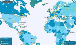 Weltkarte 15