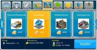 Solaranlage Bau