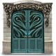 Медная дверь