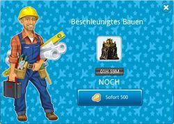Goldenes Hochhaus Bau2