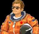 Astronaut Michael Mitchell