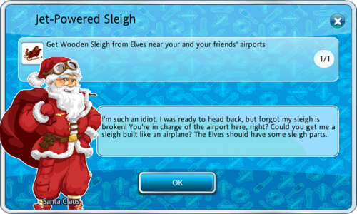 Jet-Powered Sleigh (Mission)