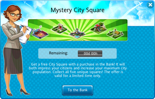 Mystery City Square