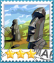 Easter Island-Stamp