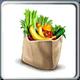Bag of Healthy Food