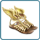 Sandals of Hermes