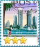 Dubai-Stamp