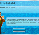 Finally, the Fruit Salad