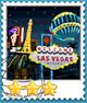 Las Vegas-Stamp