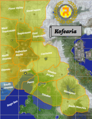 Kofearian Territorial Map