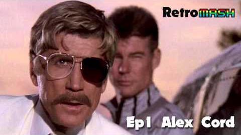 Retromash Podcast - Alex Cord from Airwolf
