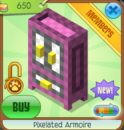 Shop Pixelated-Armoire Pink