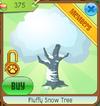 Fluffy Snow Tree
