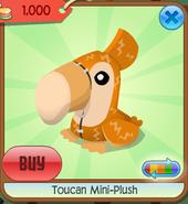 Toucan mini-plush 1