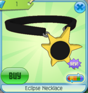 Eclipse Necklace yellow