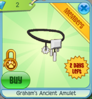 Graham's Ancient Amulet
