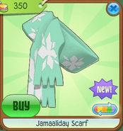 Shiveer-Shoppe Jamaaliday-Scarf Green