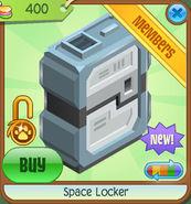 Shop Space-Locker Black