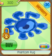Blue Phantom Rug
