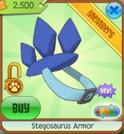 Dark blue steg armor