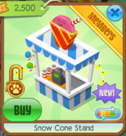 Snow Cone Stand Default