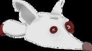 White fox hat