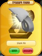 Meet-Cosmo Raccoon Shark-Fin White